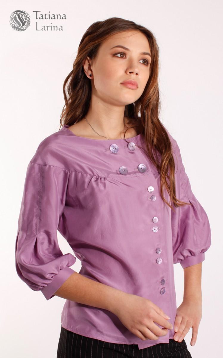 Блузку Из Натурального Шелка Купить