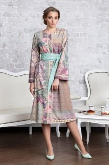 Платье-пальто из тонкой шерсти