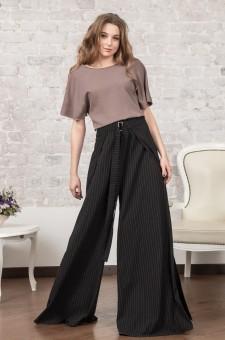 Дизайнерские брюки из шерсти