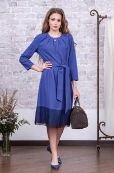 офисное платье фиолетовое сиреневое