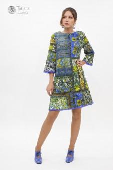 Платье А силуэта длиной до колен