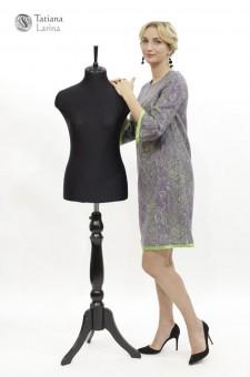 платье мини из шерсти