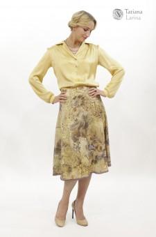 красивая юбка для офиса зима