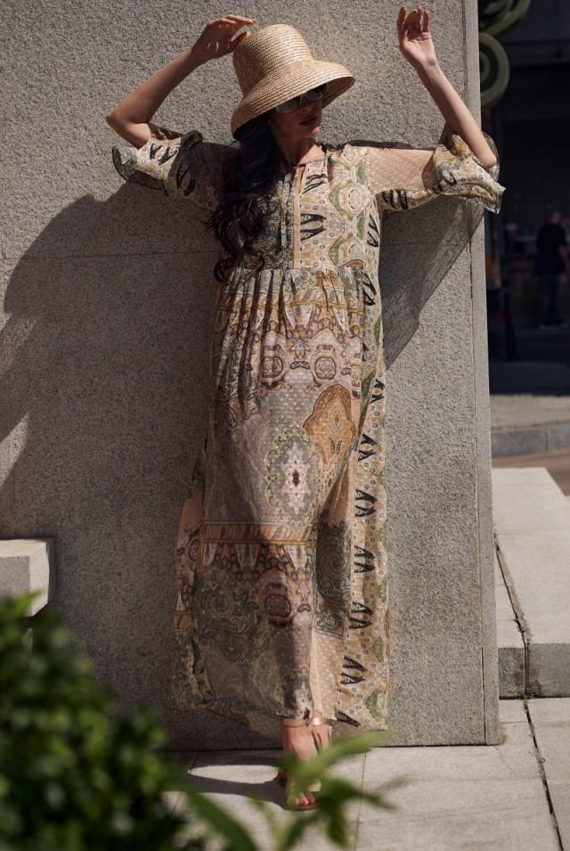 шифоновое платье москва