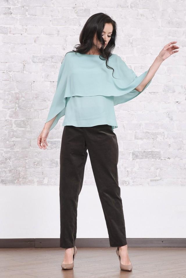брюки женские из вельвета