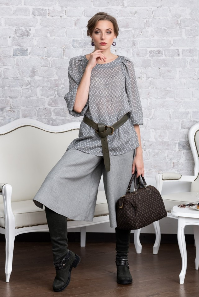 юбка брюки шерстяные