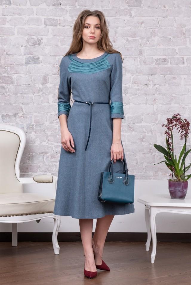 платье узкий лиф широкая юбка