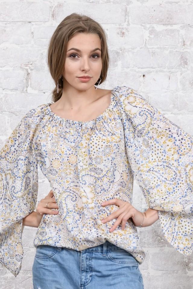 шелковая блузка открытые плечи