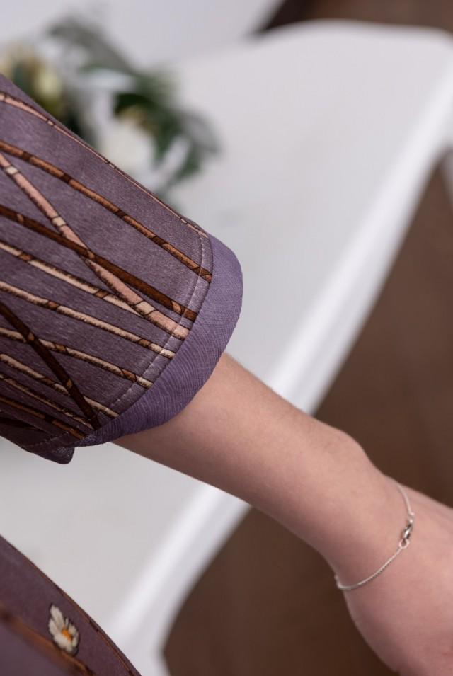 прямое шерстяное шелковое платье