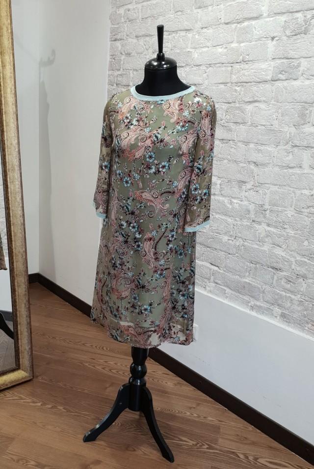 нарядное шелковое платье
