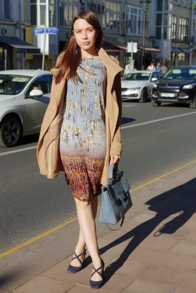 элегантное летнее платье натуральный шелк