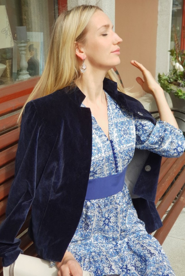 шелковое платье миди с принтом