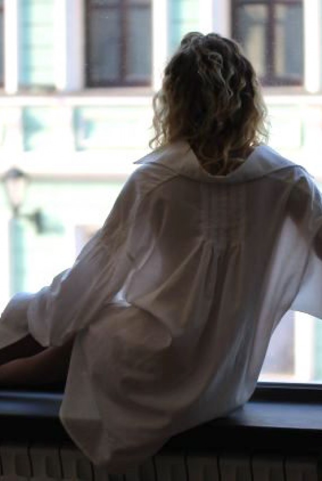 женская батистовая рубашка