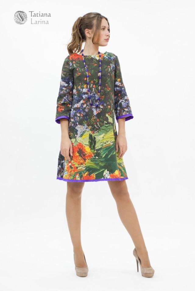 Платье в стиле 60 годов