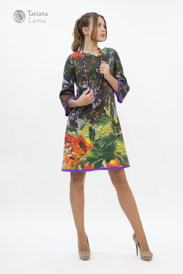 Нарядное платье до колен