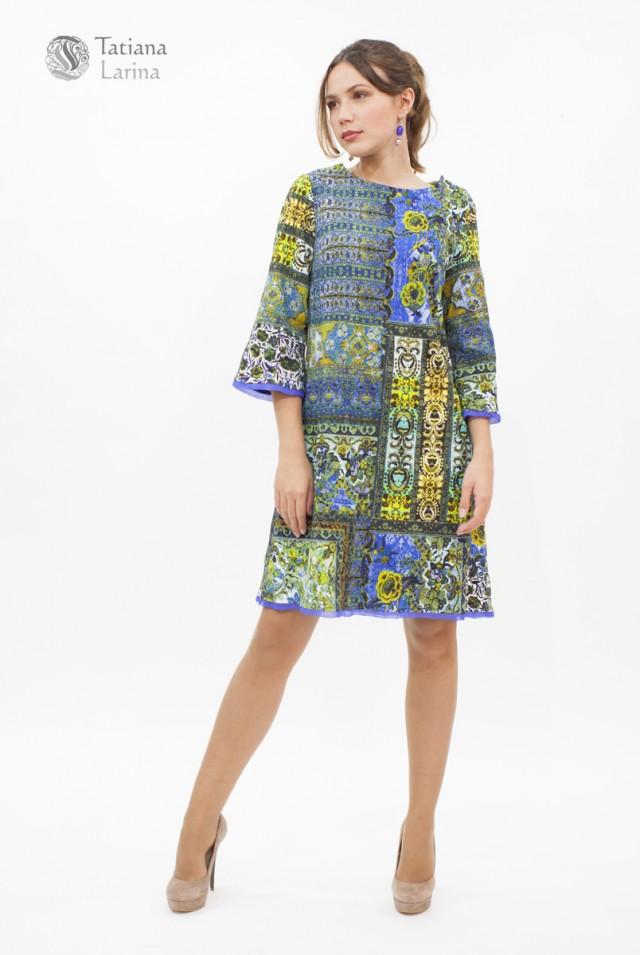 Нарядное платье на осень весну