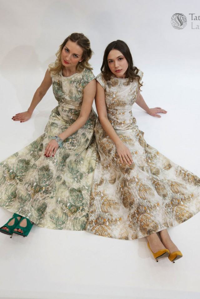Льняное платье не мнется