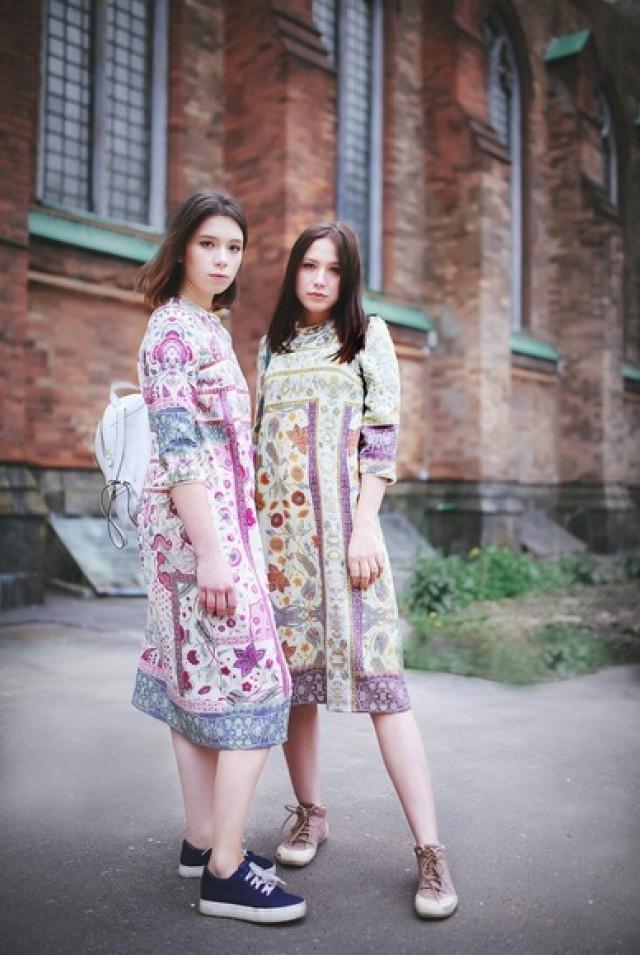 удобное платье для лета из крепа