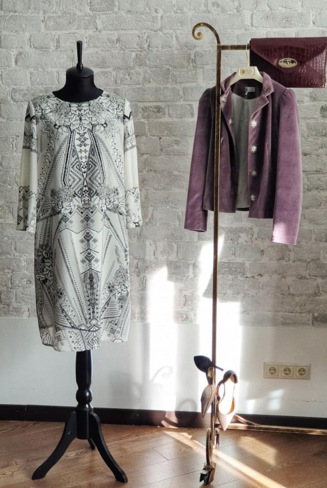 летнее платье натуральный шелк