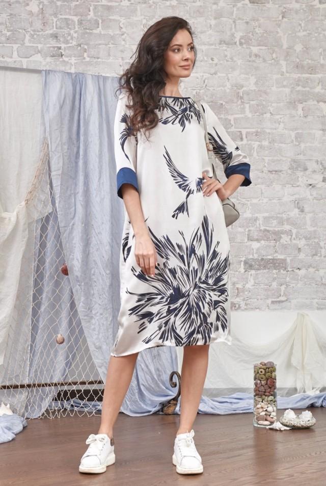 шелковое платье нарядное