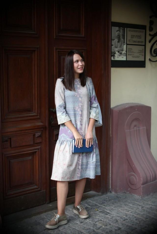 купить платье из шерсти