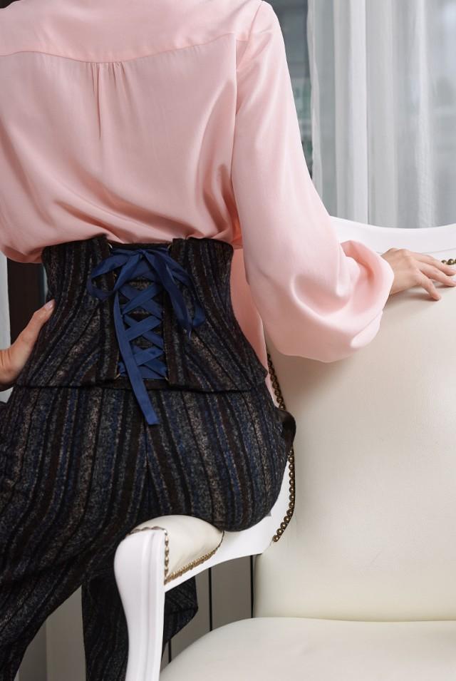 брюки кюлоты из шерсти