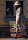 летнее шелковое платье миди