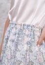 легкая светлая юбка