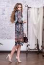 прямое платье из натурального шелка