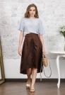 нарядная шелковая юбка