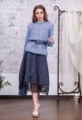 голубой джемпер пуловер кидмохер