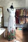 шелковая длинная юбка