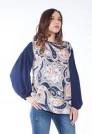 Шёлковая нарядная блузка