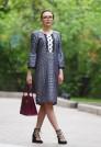 шелковое платье мини на лето