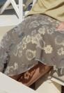 легкая летняя юбка из вискозы
