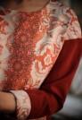 нарядное красное платье шёлк шерсть