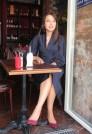 темно-синее платье для офиса
