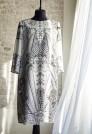 шелковое летнее платье
