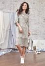 платье до колен натуральный шелк