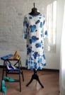 шифоновое платье натуральный шелк