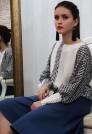 нарядная блузка натуральный шелк