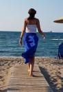 юбка в пол на лето